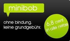 minibob - ohne grundgebühr, ohne bindung