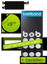 bob breitband Startpaket